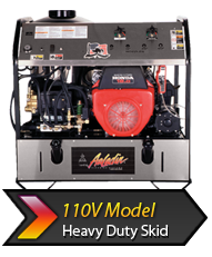 40-Series110V HD Skid pressure washer product link