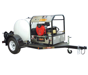 Mobile Pressure Washer System