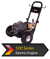 500s Electric cold water pressure washer
