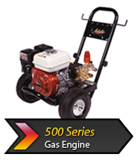 500s Gas cold water pressure washer