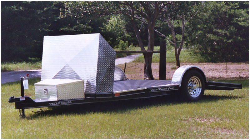 Classic Motorcycle Trailer 01